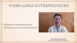 Webinaires Entrepreneurs
